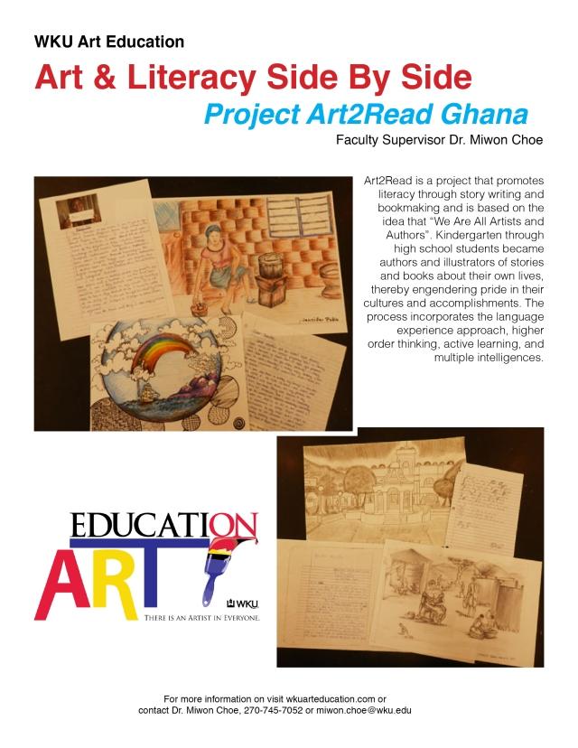 ArtLiteracy Ghana Poster
